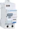 Дифференциальный автоматический выключатель 16 А / 10mAC / C хар /  AC тип / 4,5 kA / 1+N полюс / Hager