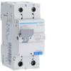Дифференциальный автоматический выключатель 6 А / 30mAC / C хар /  AC тип / 4,5 kA / 1+N полюс / Hager