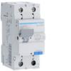 Дифференциальный автоматический выключатель 20 А / 30mAC / C хар /  AC тип / 4,5 kA / 1+N полюс / Hager