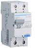 Дифференциальный автоматический выключатель 40 А / 30mAC / C хар /  AC тип / 4,5 kA / 1+N полюс / Hager