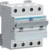 Дифференциальный автоматический выключатель 13 А / 30mA / B хар /  A тип / 6kA / 4 полюса / Hager