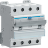 Дифференциальный автоматический выключатель 16 А / 30mA / C хар /  A тип / 6kA / 4 полюса / Hager