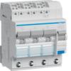 Дифференциальный автоматический выключатель 13 А / 30mA / B хар / A тип /  6kA / вход: 3 фазы + N, выход: 3х(1+N), 4 мод. , Hager