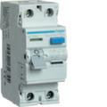 Устройства защитного отключения AC тип / 2 полюса / Hager