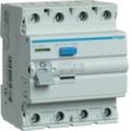 Устройства защитного отключения AC тип / 4 полюса / Hager