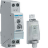Выключатель сумеречный 0-2000 Лк, на дин-рейку с датчиком освещённости EEN003(IP55), 16А 250В, ширина 1М(17,5мм)