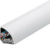 Угловой канал EK 40040 L=2,5 м, кремово-белый . Hager