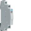 Переключатель вспомогательный состояния для реле и контакторов, рубильников и переключателей Hager 1н.о.+1н.з., АС12 6А, 250В, ширина 1/2М