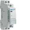 Контактор модульный бесшумный, 2н.о., AC1/AC7a 25A, Uупр.=230В 50/60Гц, (доп.конт. ESC080 не может быть установлен), ширина 1М