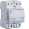 Контактор модульный бесшумный, 4н.о., AC1/AC7a 63A, Uупр.=24В 50Гц,  ширина 3М