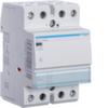 Контактор модульный бесшумный, 2н.о., AC1/AC7a 63A, Uупр.=12В 50Гц или 12В DC, ширина 3М
