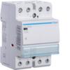Контактор модульный бесшумный, 4н.о., AC1/AC7a 63A, Uупр.=12В 50Гц или 12В DC, ширина 3М