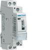 Контактор модульный c ручным упр., 2н.о., AC1/AC7a 25A, Uупр.=230В 50/60Гц, ширина 1М