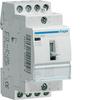 Контактор модульный c ручным упр., 4н.о., AC1/AC7a 25A Uупр.=230В 50/60Гц, ширина 2М