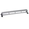 Патч панель для установки 24разъёмов, горизонтальная, на дин-рейку или монтажную плату, сталь