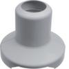 Декоративная накладка для основания G71417035 с прорезью для алюминиевого напольного короба Hager AKA181250ELN, серый