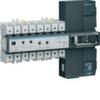 Модульный автоматический переключатель резерва (АВР) 63А, 4-пол., 400В AC22, 3 положения, ручн. Упр.