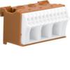 Блок P-клемм 14 клеммных выходов: 11х4мм2 безвинтовых, 3х16мм2 винтовой, ширина - 60мм. Hager