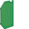 Принадлежность для наборных клемм Изолятор торцевой для KXA02E, зеленый