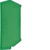 Принадлежность для наборных клемм Изолятор торцевой для KXA10E, KXA16E, зелёный