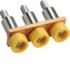 Принадлежность для наборных клемм Соединитель, на 3Р 16мм2 поперечный изолированный для KXA16L, KXA16N