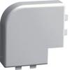 Плоский угол, SL 17052, серый . Hager SL