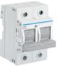 Рубильник для предохранителей D02 2P 63A 400V AC 110/220V DC