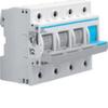 Рубильник для предохранителей D02 3P+N 63A 400V AC 110/220V DC