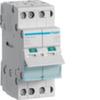 Выключатель нагрузки Hager - рубильник 16A, 3-пол., 2 модуля, 230-400В