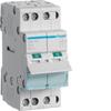 Выключатель нагрузки Hager - рубильник 32A, 3-пол., 2 модуля, 230-400В