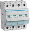 Выключатель нагрузки Hager - рубильник 40A, 4-пол., 4 модуля, 230-400В