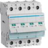 Выключатель нагрузки Hager - рубильник 63A, 4-пол., 4 модуля, 230-400В