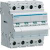 Выключатель нагрузки Hager - рубильник 125A, 4-пол., 4 модуля, 230-400В
