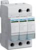 Разрядник защиты от перенапряжения класс С 3P steck.40kA Anz+Kont