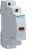 Светодиодный индикатор c красным фильтром, 230В АС,  1 М