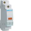 Светодиодный индикатор, c желтым фильтром,  230В АС, 1 М