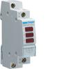 Светодиодный индикатор красный 3х, 230В АС, 1 М