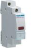 Светодиодный индикатор c красным фильтром, 12-48В AC/DC,1 М