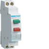 2 кнопки управления, без фиксации 16A, 250В АС, 2х1 н.о., 1 М (две кнопки - две независимые группы )