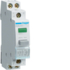 Кнопка управления, без фиксации 16A, 250В АС, 2 н.з., с зеленым индикатором 230В АС,