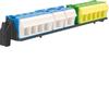 Держатель с клеммами PE/N для щитов Volta VE412DN, VE412CN(подходит ко всем щитам Vector кроме VE103-106D)